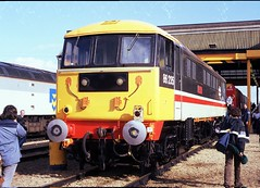 86235 at Ripple Lane October 1987 (Mark Bowerbank) Tags: october ripple 1987 lane 86235