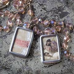 ANGE GARDIEN - REWERS & AWERS (Alicja Radej Arte Ego) Tags: glass handmade oneofakind jewelry jewelery retrocharm