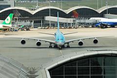 Korean Air Airbus A380-861 HL7612  MSN 39 (Jimmy LWH) Tags: aircraft airbus a380 ke flugzeug hkg avion kal vliegtuig airbusa380 aeroplano skyteam vhhh a380800 airbusa380800 7020028gvr 空中客车 空客 a380861 大韩航空 天合联盟 lwh1988 hl7612 15aug2011vhhh msn39