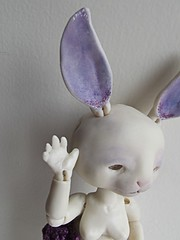 Ciboulette (Tshu) Tags: ball doll handmade bjd custo lapin jointed fenouil chimres tendres