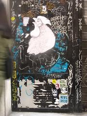 Gort RX Flattiron Smart crew usa Nice handmade paste up (FLATTIRON / ISCE) Tags: smart crew usa rx stickers barcelona flattiron street art combos jams barri gotic raval arte urbano niko bcn urba pegatinas