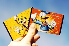 on my way (submarine floats) Tags: goofy ticket disney disneyworld waltdisneyworld donaldduck canon50mm18 canonrebelxs disneythemeparks