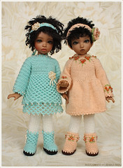 Lola and Gracie [explore] (Maram Banu) Tags: doll dress boots bjd bid efreet yosd erzulie iplehouse fairystyle marambanu