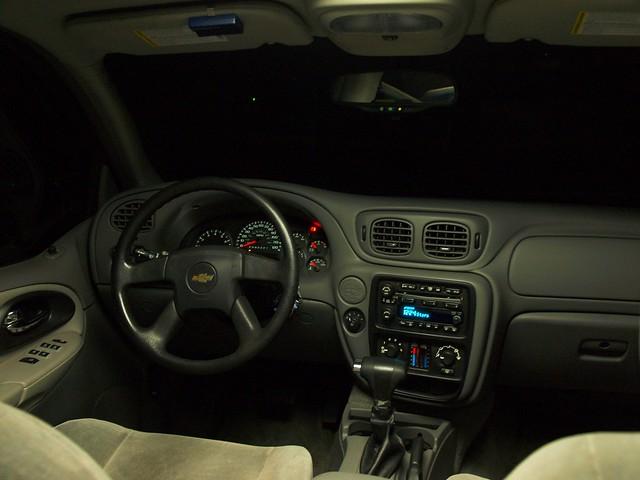 chevrolet chevy trailblazer 2006 interior dash steeringwheel ls