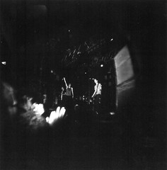 Sparks The Rescue (mayrajmedina) Tags: blackwhite lomography houseofblues holgacfn120 sparkstherescue sintour