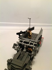 Top Angle View (Leafix) Tags: lego scifi m3halftrack legohalftrack