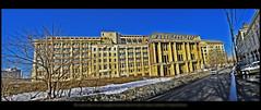 """Palatul """"Cacademicienei"""" văzut din spate (cod_gabriel) Tags: panorama romania bucharest bucuresti bukarest roumanie boekarest bucarest românia bucureşti bucareste panoramă"""