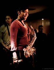 Tia Fuller at Cotton Club (Jrme Pierson) Tags: china leica city portrait people musician music woman color smile face look bar club tia 50mm concert eyes shanghai live stage jazz m summicron cotton american portraiture microphone groove   sax saxophone chine fuller musique saxo saxophonist americaine beyonc musicienne   saxophoniste