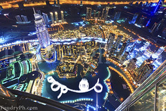 At the top of burj Khalifa - Dubai (A.alFoudry) Tags: world old light music building fountain architecture night skyscraper canon mall eos lights town dubai gulf mark top united full emirates khalifa arab frame nights 5d kuwait fullframe oldtown symphony ef unitedarabemirates kuwaiti burj dxb q8 highest  abdullah hight atthetop mark2   1635mm   || f28l kuw q80 q8city xnuzha alfoudry  dubaimall abdullahalfoudry foudryphotocom theaddress theaddresshotel mark|| 5d|| canoneos5d|| mk|| canoneos5dmark|| canonef1635mmf28l|| atthetopburjkhalifa foudryphcom