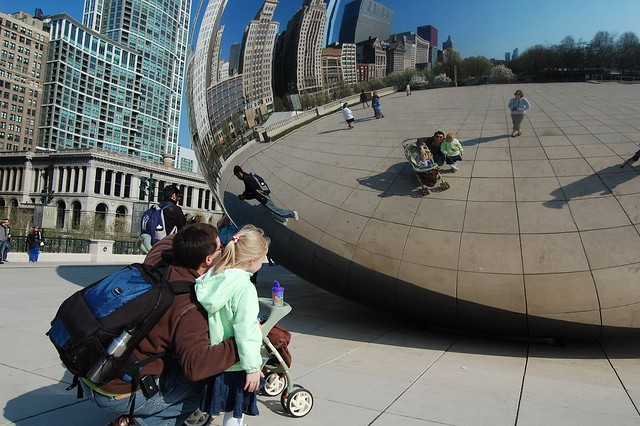 Family Portrait in the Bean