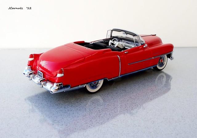 convertible cadillac eldorado 1953 diecast franklinmint 124scale