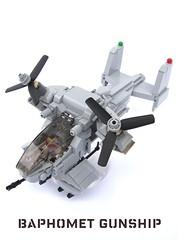 European Union Baphomet Gunship (1) (✠Andreas) Tags: military eu vtol gunship bley leho legogunship euarmy