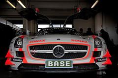 ADAC GT Masters in Oschersleben 2012 - Mercedes-Benz SLS AMG GT3 (n0rmili) Tags: auto car racetrack race canon 7d rennen oschersleben fia motorsport 2012 adac gt3 motorsportarena gtmasters