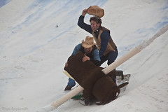 Not-So-Good Cowboys (Rhys A.) Tags: show mountain mountains classic philadelphia race radio jack frost steve competition cardboard preston poconos fm stunt 2012 pocono wmmr 933