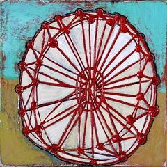 wheel1-gilhooly-lo (Barbara Gilhooly) Tags: art acrylic wheels paintings cityscapes birch 2012 barbaragilhooly