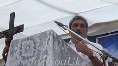 Sir Matanhy Saldanha - Final Journey (joegoaukextra3) Tags: tourism goa funeral minister rites bjp joegoauk cansaulim matany mathany