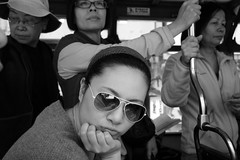 The coolest faces.... (van*yuen) Tags: leica blackandwhite bw hongkong documentary summicron impression m9 citysnap 352 leicam summicron352asph leicam9 march2012 tanialai