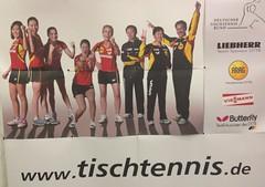 Tischtennis WM Plakat