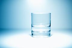 A Lighter Shade Of Blue // (Auensen) Tags: blue glass strange 50mm nikon april nikkor tones 2012 lightblue f14g colordepth d7000 sb700 nikonnikkor50mmf14g nikond7000 nikonsb700