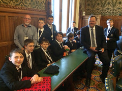 "Stephen Mosley MP meets young coders at CodersDojo event in Parliament • <a style=""font-size:0.8em;"" href=""http://www.flickr.com/photos/51035458@N07/13543612695/"" target=""_blank"">View on Flickr</a>"