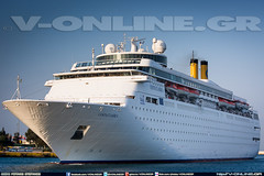 COSTA CLASSICA - COSTA CRUISES (http://v-online.gr) (V-ONLINE.GR) Tags: new costa ferry ship ships vessel cruiseship ferries vessels piraeus pireas costaclassica costacruises vonlinegr