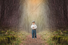 (GreaseBucketPhotography) Tags: boys hat forest children photography bucket jean glen grease magical whimsical