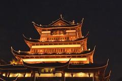 Shanghai Old Town building (stevelamb007) Tags: china building architecture night nikon shanghai oldtown lighted nikkor18200mm stevelamb d7200