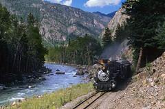 Cascade Canyon (Moffat Road) Tags: railroad train river colorado ds steam co mikado locomotive cascade narrowgauge passengertrain 282 cascadecanyon animasriver dsng touristtrain durangoandsilverton durangoandsilvertonnarrowgaugerailroad 3footgauge formerriogrande milepost477