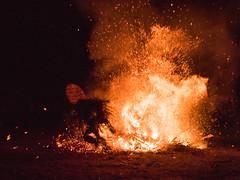 Into the Fire (MrBlackSun) Tags: nikon ceremony png rite firedance rabaul newbritain eastnewbritain baining d810 nikond810 firedanceceremony bainingpeople bainingtribes bainingmountains