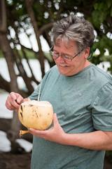 coconut water (jkenning) Tags: puertorico kayaking fajardo 2016 kevink biobay lagunagrande bioluminescentbay