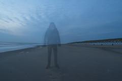 Ghost at the beach (original) (tschl) Tags: beach strand nikon exposure ghost playa geist fantasma d3100