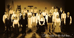The Last Time (ye sons of art) Tags: uk england usa sepia actors play theatre somerset cast singers drama ourtown frome curtaincall thorntonwilder