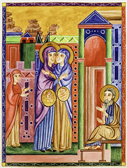 Bearing the Ark of the Covenant (Lawrence OP) Tags: painting visitation biblical stelizabeth ourlady blessedvirginmary stcyrilofjerusalem