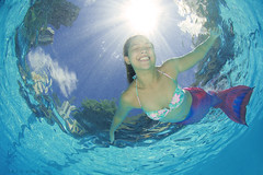 Fun and Sun (PaparazSea.com) Tags: tail mermaid swimingpool poolshots funinwater dyesebel philippinemermaid