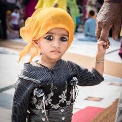 Kajal (annabellys) Tags: india temple sikh kohl kajal gurudwarabanglasahib