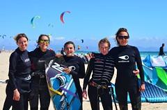 Super moment pendant les cours de kitesurf  Tarifa (Addict kite school Tarifa) Tags: girls kite beach sport student spain lifestyle andalucia kiteboarding kitesurfing kitesurf cours tarifa watersport loslances kitespot zeeko kiteschool kitelessons zeekokite