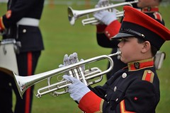 Junior Trumpeter, Coventry Corps of Drums