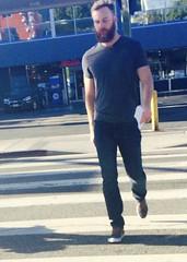 IMG_8990 (danimaniacs) Tags: street man hot sexy guy beard hunk westhollywood stud scruff mansolo