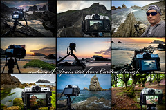 making of Spain 2016 (cfaobam) Tags: travel light sea rot nature water berg rock stone sunrise landscape photography spain meer wasser europa europe sonnenuntergang outdoor magic steine national ufer landschaft stein sonnenaufgang makingof geographic spanien kste felsen ozean liencres felsformation cfaobam cfaobamhome