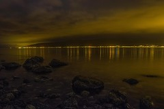 the Clyde (MC Snapper78) Tags: reflection night reflections landscape reflecting scotland riverclyde hills gourock nikond3300 marilynconnor