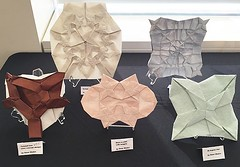My exhibit Ousa 2016 (o'sorigami) Tags: art robert paper origami complex tessellation paperfolding lang folding satoshi ousa tesellation satoshikamiya kamiya origamiusa teselation ousa2016