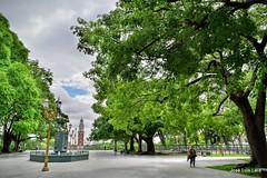 Lnguida Buenos Aires (pepelara56) Tags: plaza rboles nubes hdr