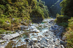 Taiwan-121115-379 (Kelly Cheng) Tags: travel tourism nature water rock horizontal river landscape daylight asia day outdoor taiwan vivid nobody nopeople tarokonationalpark tarokogorge  traveldestinations  northeastasia