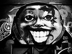 image (marchaconty) Tags: streetwallart streetart art wallart wallpainting streetphotography streetsnap   mono monochrome blackandwhite