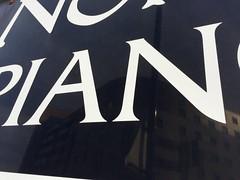 863. Piano (thatianbloke) Tags: black piano serif uppercase