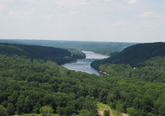 Delware river from the tower (pilechko) Tags: view pennsylvania nj newhope delawareriver bowmanshill