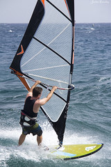 Lanzarote Windsurfer (Jackie XLY) Tags: wind windsurfer windsurfing surfer surfing lanzarote teguise costateguise canaries canaryislands sport weather water waves