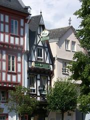 Boppard am Rhein (Seesturm) Tags: 2016 seesturm rheinlandpfalz germany rhein boppard fachwerk rmerkastell