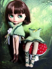 Blythe and her dress