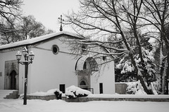 Church // Snow (stanimir.stoyanov) Tags: bw snow church bulgaria pleven